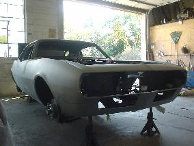 68 CHRIS ALLSTON CAMARO RESTORATION