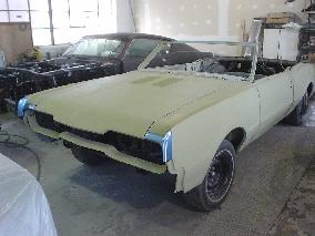 67 OLDSMOBILE 442 RESTORATION