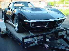 69 corvette road race project restoration