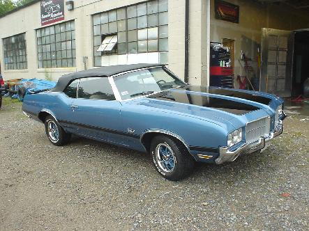 1971 olds cutlass restoration
