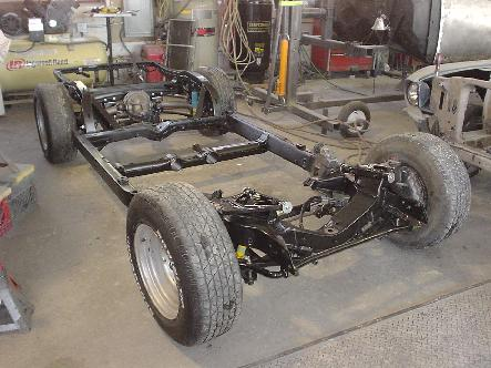 2nd generation automotive restorations 1966 mustang full frame 1969 corvette rolling chassis vbp suspension