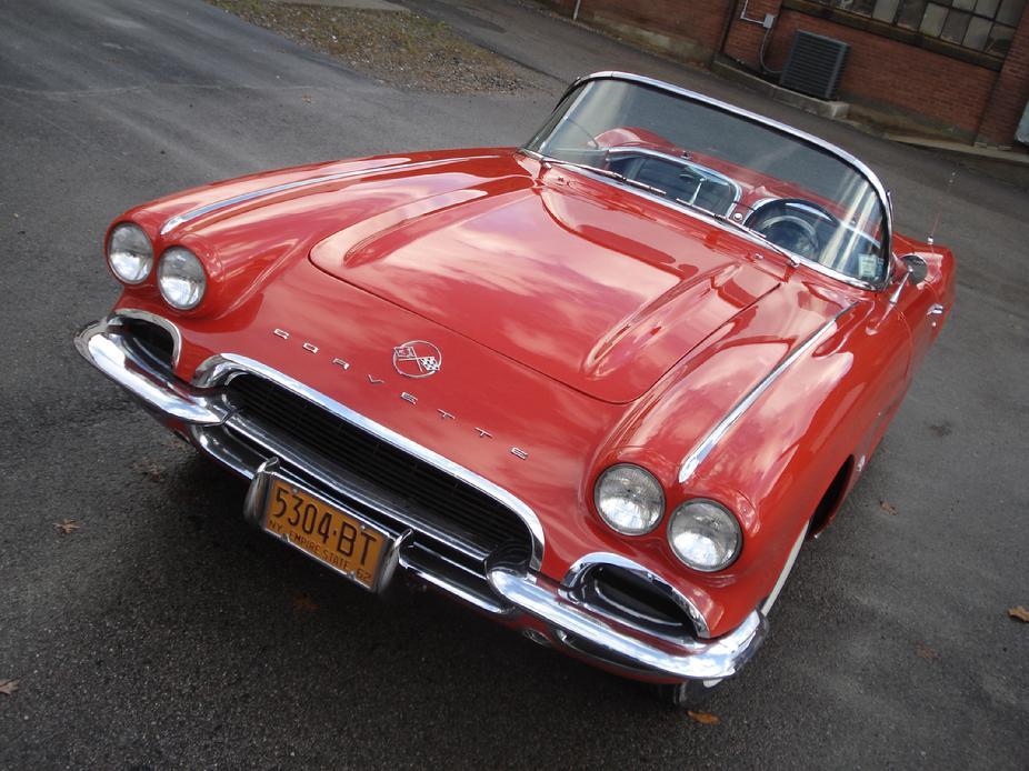 2ND GENERATION AUTOMOTIVE RESTORATIONS 62 CORVETTE