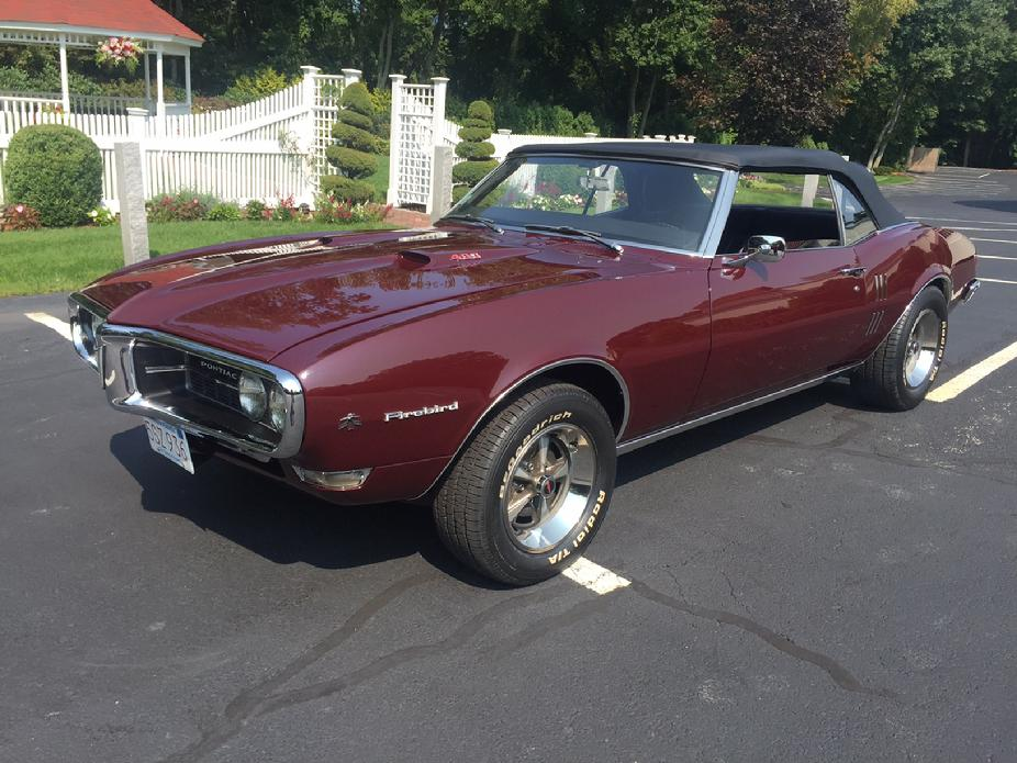 2ND GEN RESTORATIONS 68 FIREBIRD